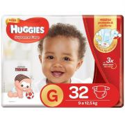 FRALDA HUGGIES SUPREME CARE G C/32