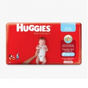 FRALDA HUGGIES SUPREME CARE P C/48
