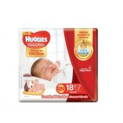 FRALDA HUGGIES SUPREME CARE RN C/18