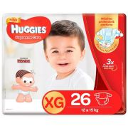 FRALDA HUGGIES SUPREME CARE XG C/26