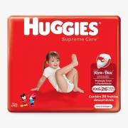 FRALDA HUGGIES SUPREME CARE XXG C/26