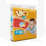 FRALDA INFANTIL VIC BABY XG 3 PCT. C/70 CXF