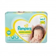FRALDA PAMPERS RN PREMIUM CARE C/36 UNID.