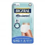 ROUPA INTIMA MOVIMENT BIGFRAL UNISSEX G/XG C/7
