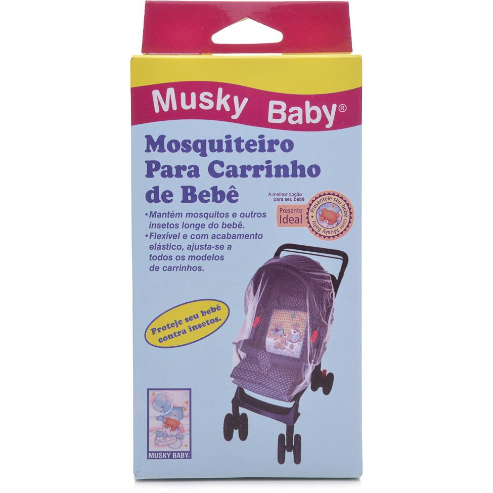 MOSQUITEIRO CARRINHO MUSKY BABY  - Ruth Fraldas