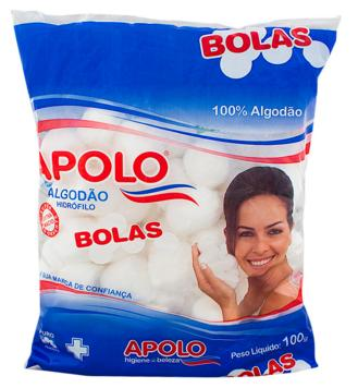 ALGODAO APOLO BOLAS 100 GR  - Ruth Fraldas