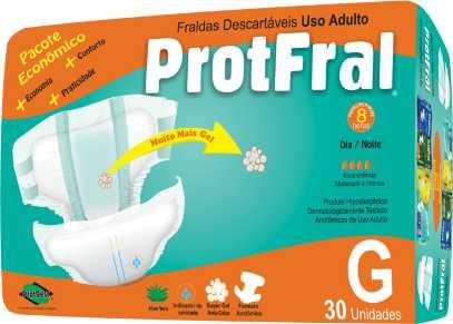 FRALDA GERIATRICA PROTFRAL G C/30  - Ruth Fraldas