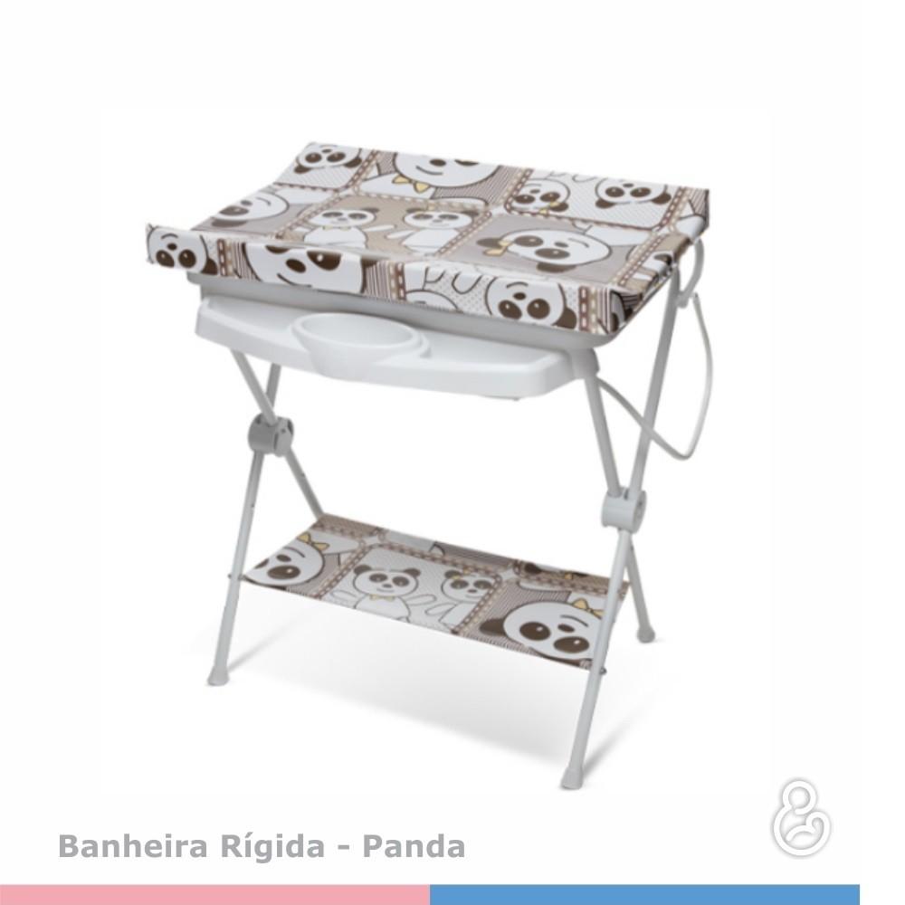 BANHEIRA GALZERANO LUXO RIGIDA 7015 PANDA  - Ruth Fraldas