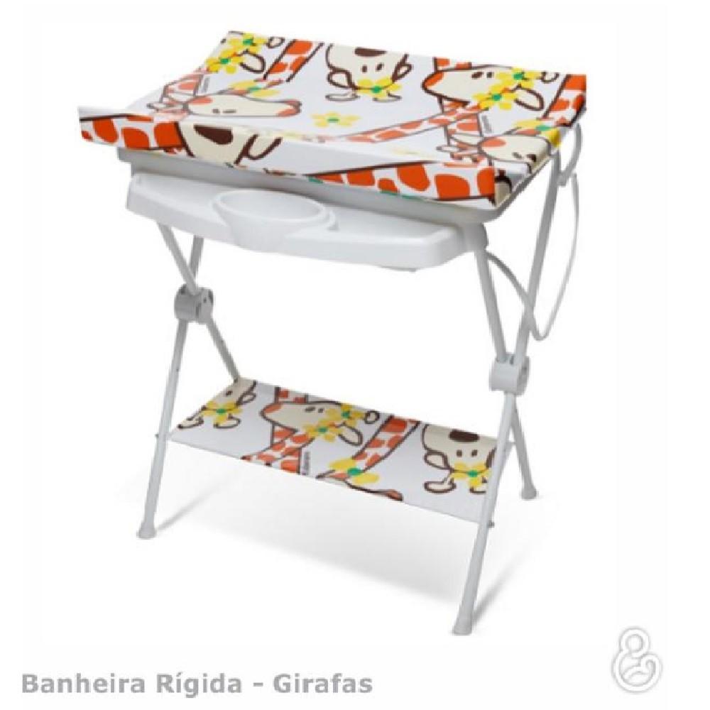 BANHEIRA GALZERANO LUXO RIGIDA 7015 GIRAFA  - Ruth Fraldas