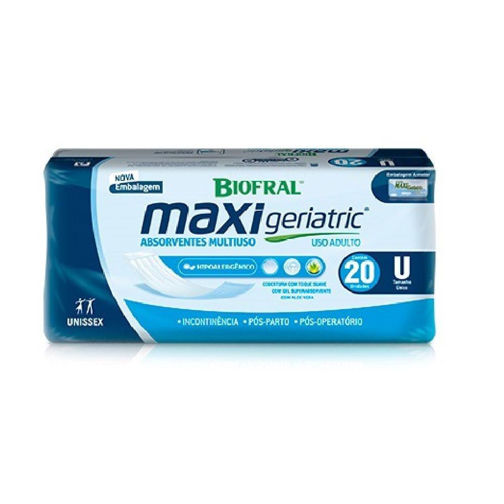 ABSORVENTE BIOFRAL MAXI GERIATRIC 10 PCT.C/20 CXF  - Ruth Fraldas