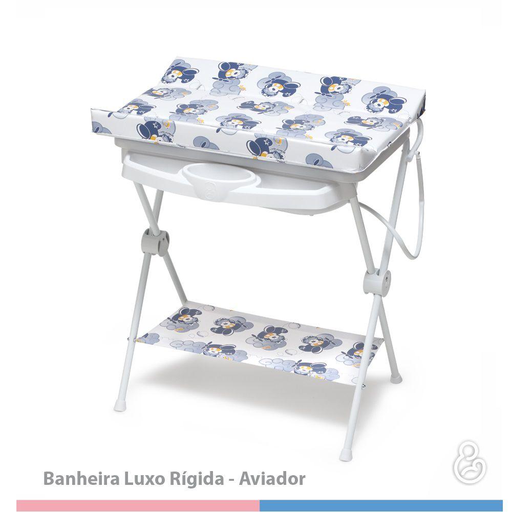 BANHEIRA GALZERANO LUXO RIGIDA 7015 AVIADOR  - Ruth Fraldas