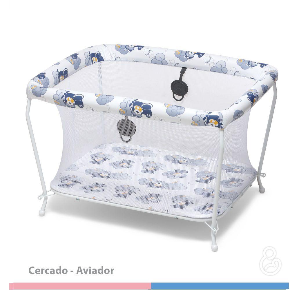 CERCADO GALZERANO RETANGULAR AVIADOR 3005  - Ruth Fraldas