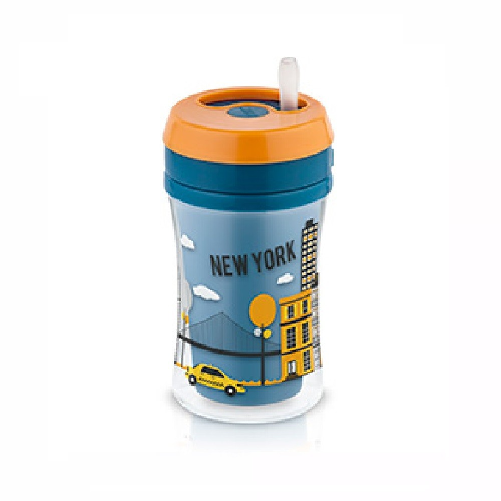 COPO FUN C/CANUDO BOY NUK 18+ MESES 270ML  - Ruth Fraldas
