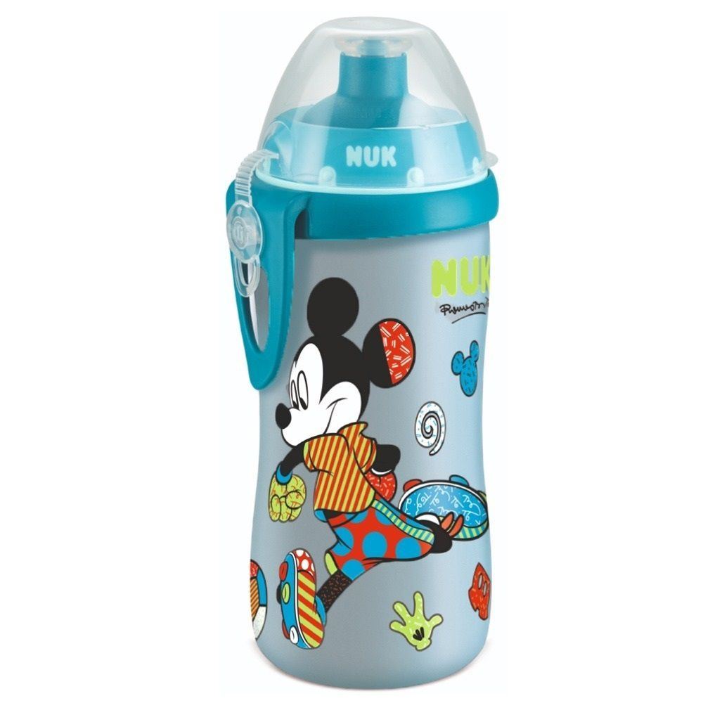 COPO JUNIOR CUP DISNEY BY BRITO AZUL NUK  300 ML  - Ruth Fraldas