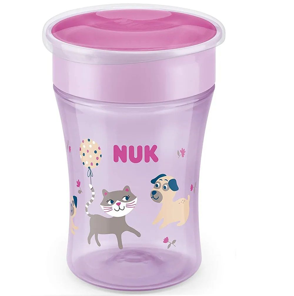 COPO MAGIC CUP EVOLUTION 360 NUK GIRL 230 ML  - Ruth Fraldas