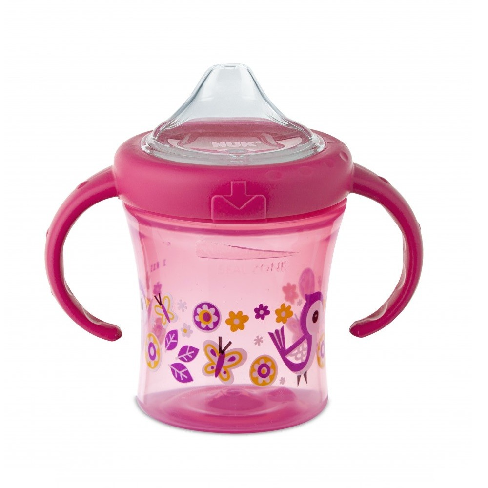 COPO MY FIRST GIRL 6+ MESES ANTI. NUK 200ML  - Ruth Fraldas