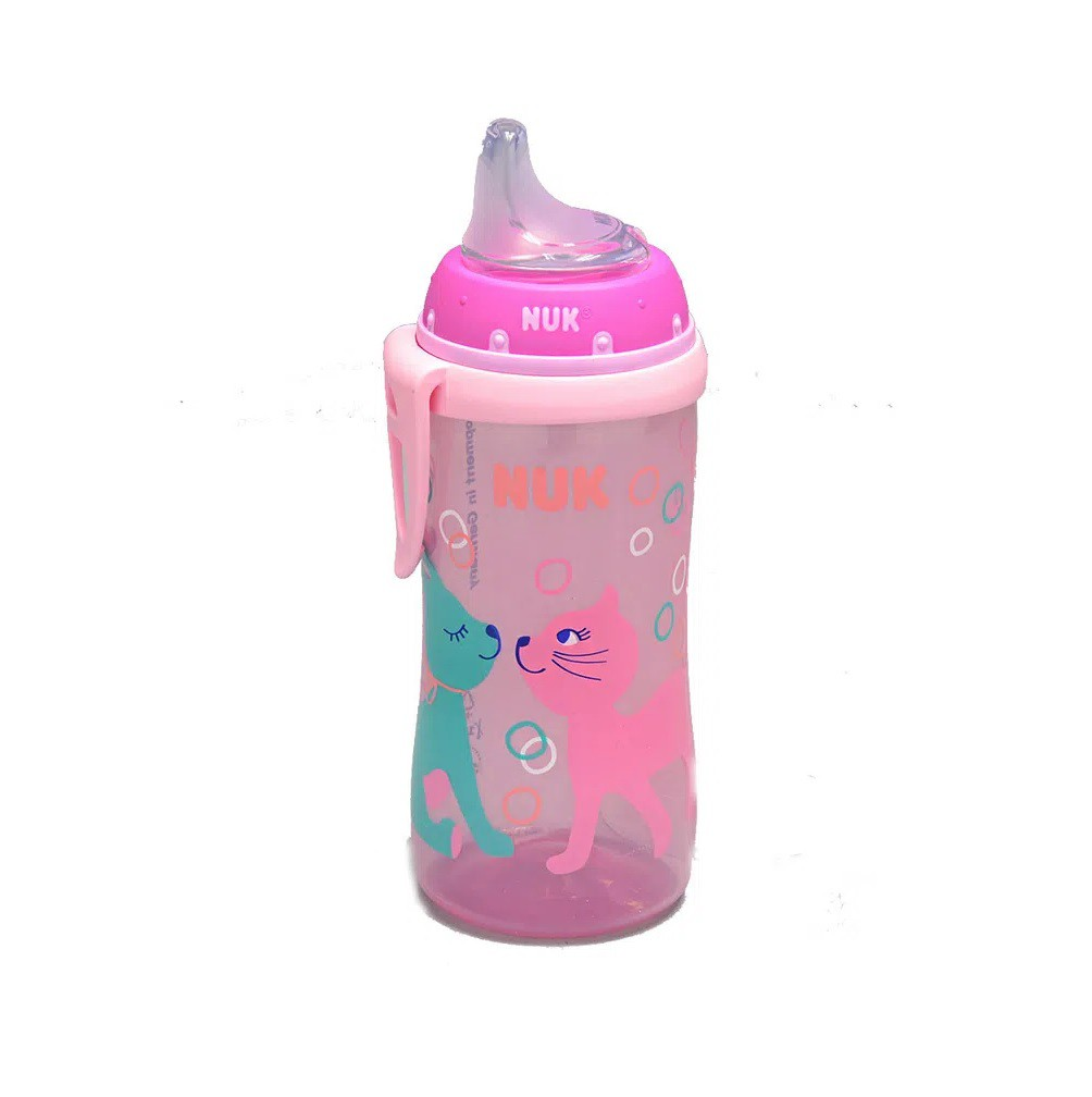 COPO NUK ACTIVE CUP GIRL 300ML SILIC  - Ruth Fraldas