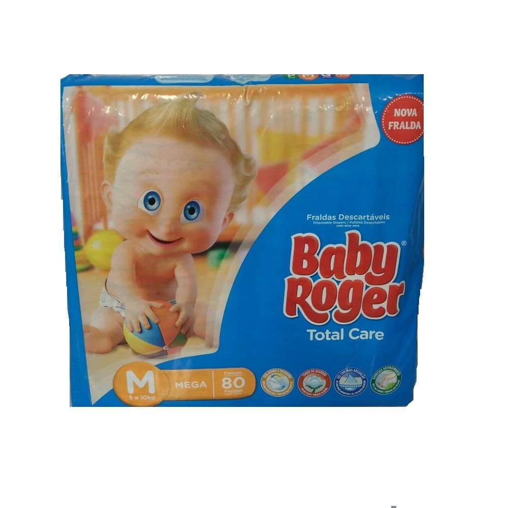 FRALDA BABY ROGER M C/80  - Ruth Fraldas