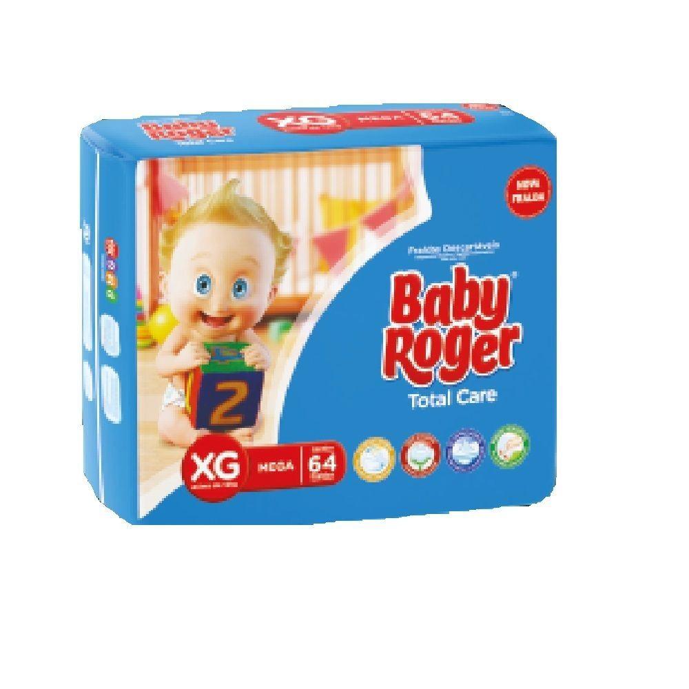 FRALDA BABY ROGER XG 4 PCT. C/64 CXF  - Ruth Fraldas