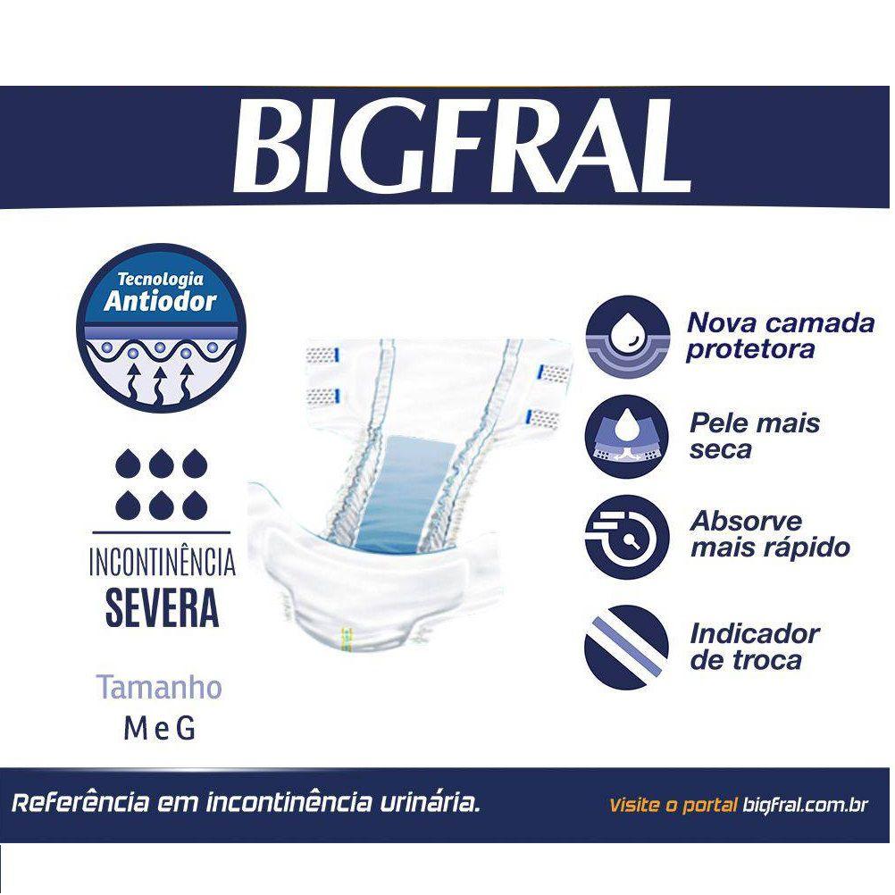 FRALDA GERIATRICA BIGFRAL NOTURNA G C/7 U  - Ruth Fraldas