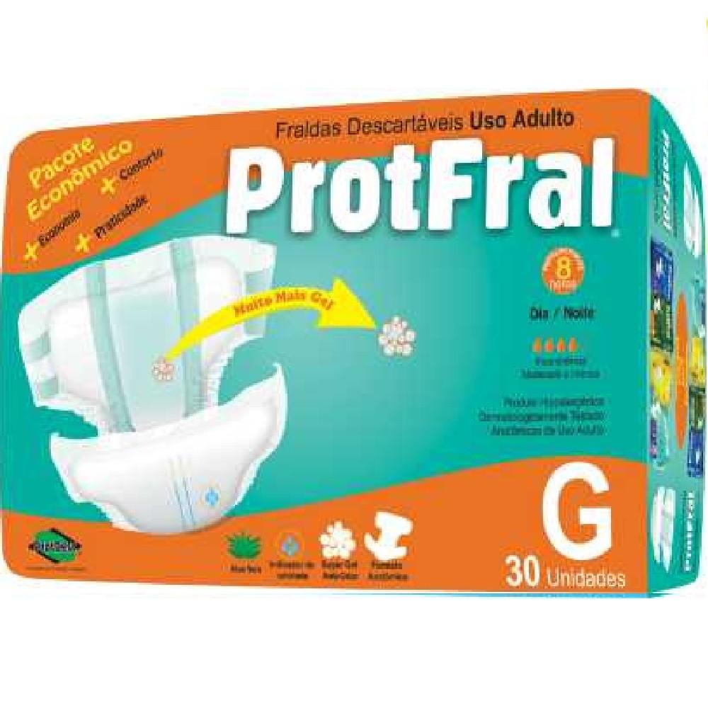 FRALDA GERIATRICA PROTFRAL G 4 PCT.C/30 CXF  - Ruth Fraldas
