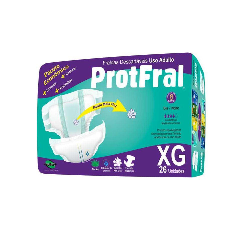 FRALDA GERIATRICA PROTFRAL XG C/26  - Ruth Fraldas