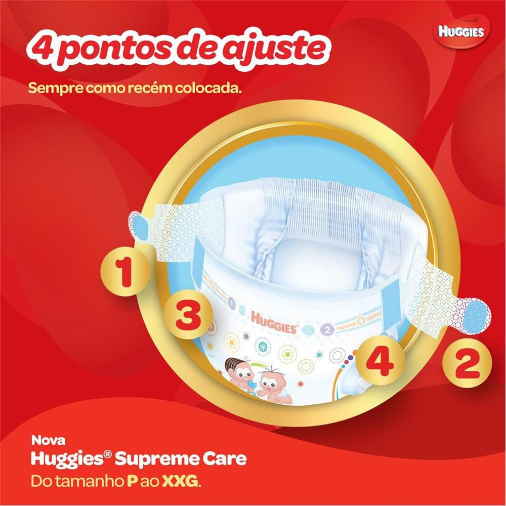 FRALDA HUGGIES SUPREME CARE G C/32  - Ruth Fraldas