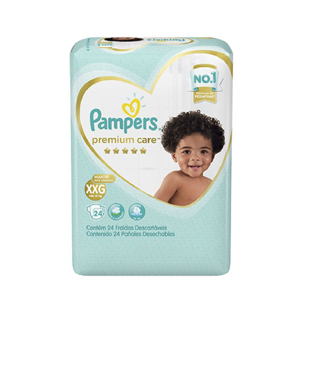 FRALDA PAMPERS PREMIUM CARE XXG C/24 - Ruth Fraldas