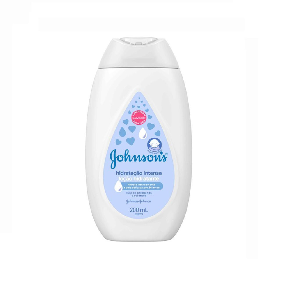 LOCAO HIDRATANTE HIDRATACAO INTENSA JOHNSONS200ML  - Ruth Fraldas