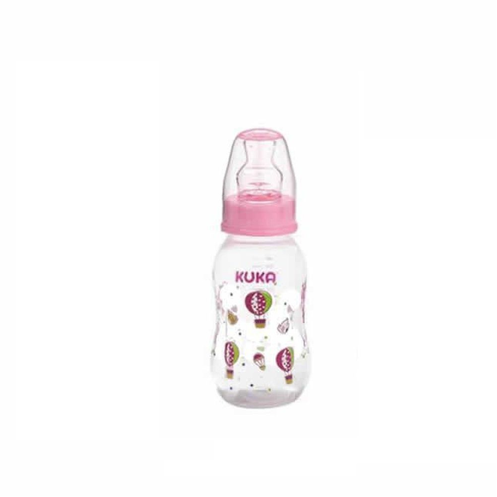 MAMADEIRA KUKA NATURAL COLOR ORTO 160ML ROSA  - Ruth Fraldas
