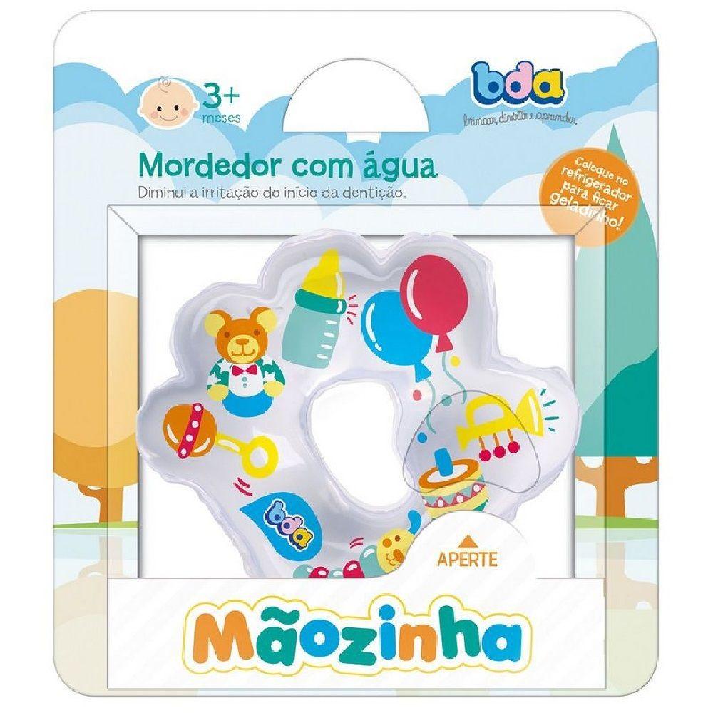 MORDEDOR COM ÁGUA MÃOZINHA BDA TOYSTER 3M+  - Ruth Fraldas