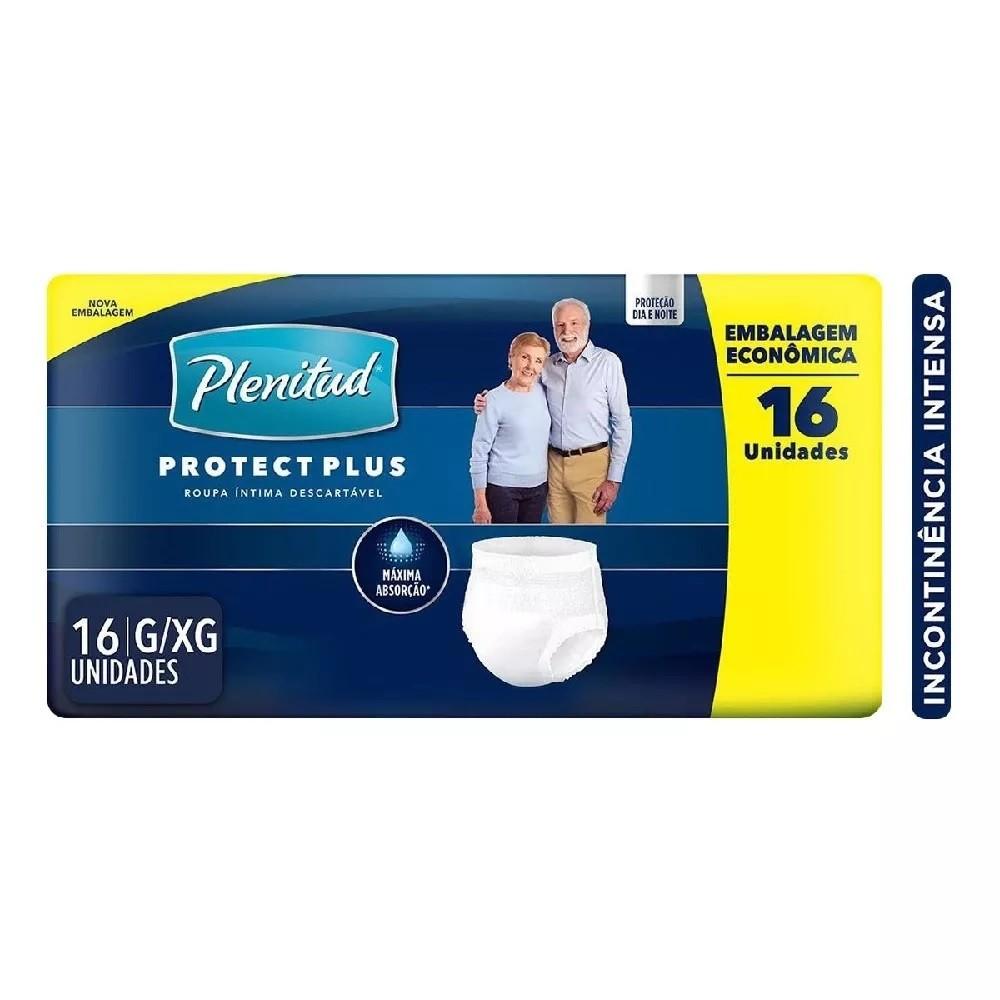 ROUPA INTIMA PLENITUD PROTECT G/EG 4 PCT.C/16 CXF  - Ruth Fraldas
