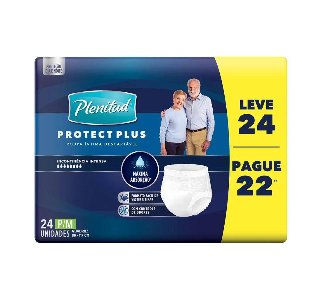 ROUPA INTIMA PLENITUD PROTECT PLUS P/M L24 PG 22  - Ruth Fraldas