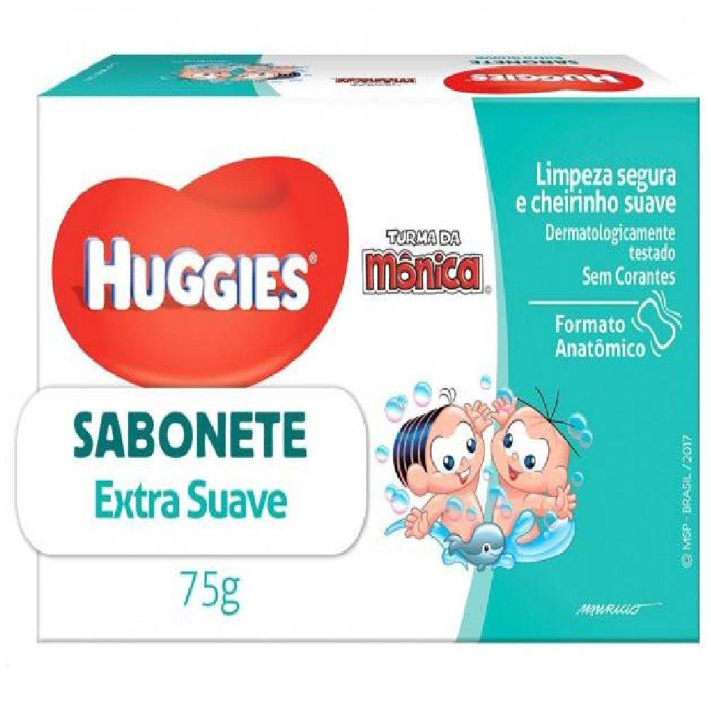 SABONETE T.MONICA HUGGIES 75G SUAVE  - Ruth Fraldas