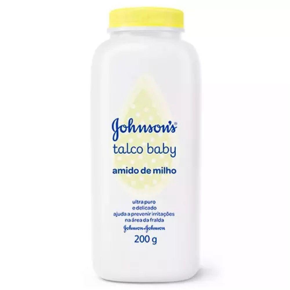 TALCO JOHNSONS BABY AMIDO DE MILHO C/200 GR.  - Ruth Fraldas