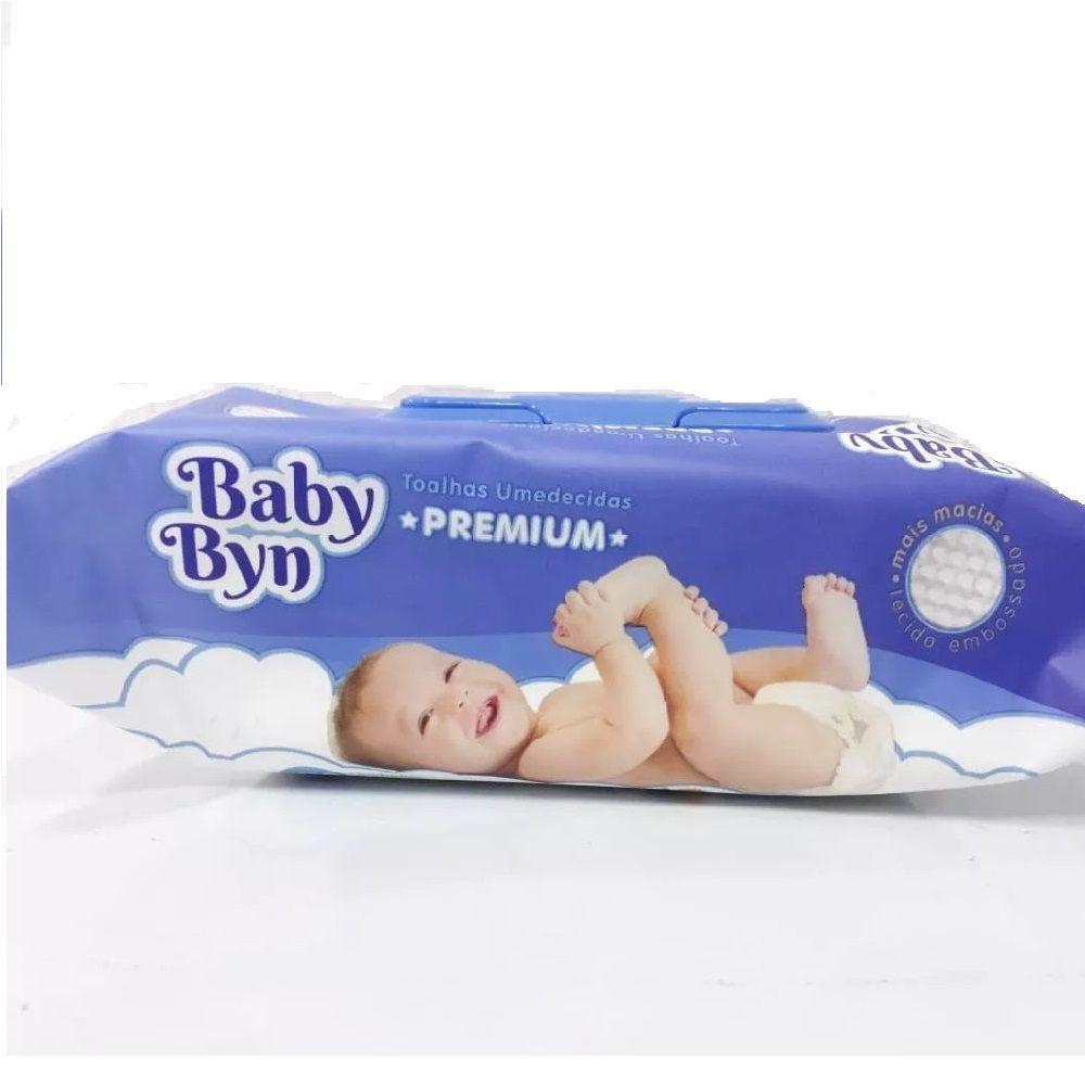 TOALHAS UMEDECIDAS BABY BYN C/100  - Ruth Fraldas