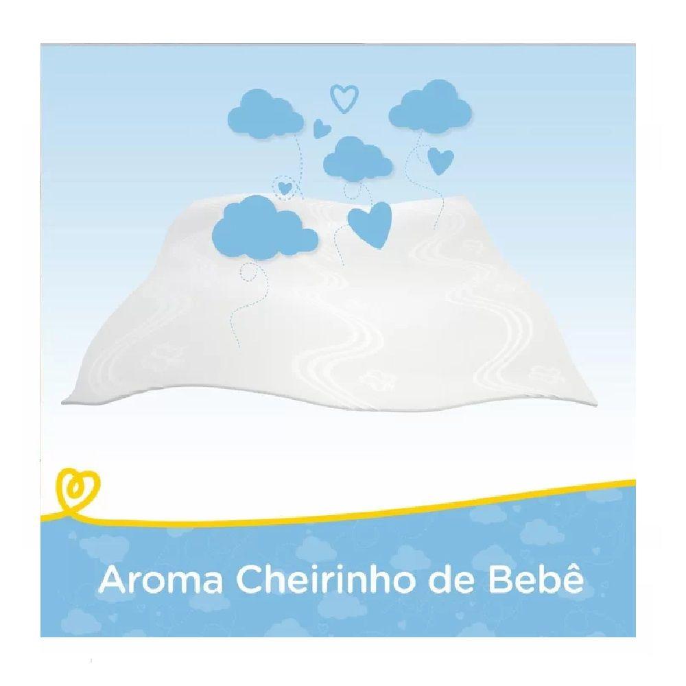 TOALHAS UMEDECIDAS PAMPERS CHEIRINHO DE BEBÊ C/48  - Ruth Fraldas