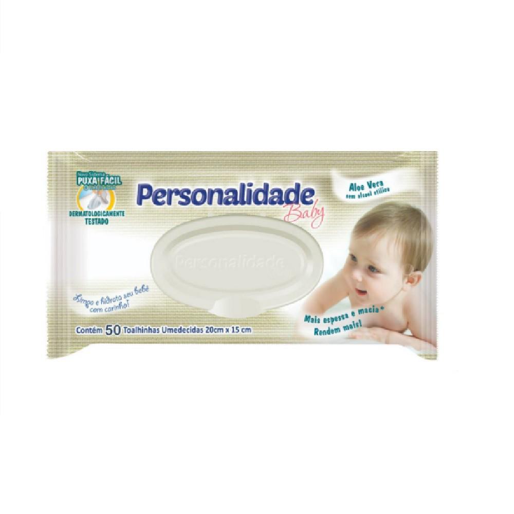 TOALHAS UMEDECIDAS PERSONALIDADE BABY C/50  - Ruth Fraldas