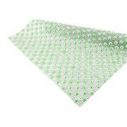 Manta de Strass com Chaton - Crystal com Verde Perolado - Peça Inteira