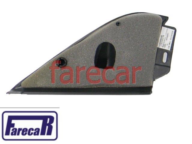 Moldura Grafite lado direito acabamento Interno Espelho Retrovisor Gol 4 Portas G2 bola g3 g4 Parati Saveiro 373857506A71N  - Farecar Comercio