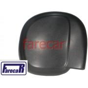 Capa Preta do Espelho Retrovisor  Ford F250 F-250