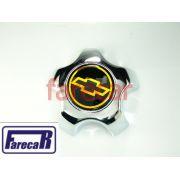 Calota Miolo Roda S10 Blazer Executive 1999 2000 Gm Dourado