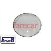 lente de vidro do farol milha neblina do parachoque Vw Jetta 2007 a 2009
