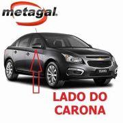 Capa Retrovisor Cinza Rusk Direito Cruze 2012 2013 2014 2015 2016