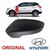 Capa do espelho retrovisor lado esquerdo Hyundai Creta 2016 2017 2018 2019