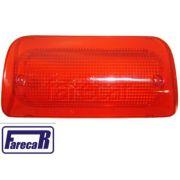 lente da lanterna de luz de freio teto cabine brake light s10 s-10  1995 a 2011 todas