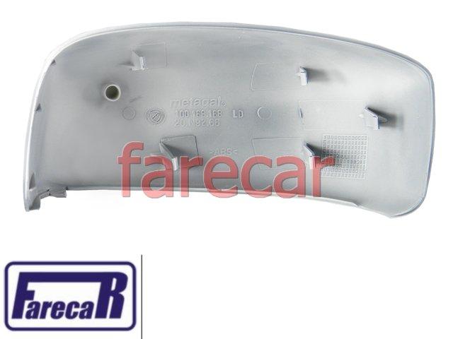 CAPA PRIMER DO ESPELHO RETROVISOR FIAT IDEA 2005 A 2010 05 06 07 08 09 10 2006 2007 2008 2009  - Farecar Comercio
