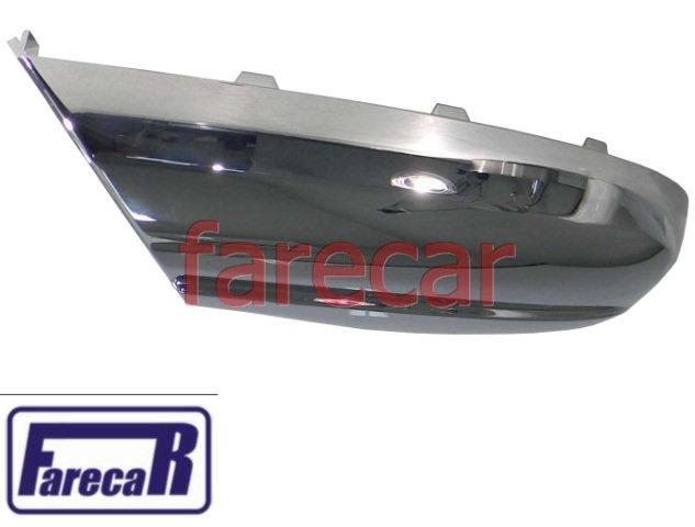 capa inferior cromada do espelho retrovisor VW Amarok 2010 2011 2012 2013 2014 2015 2016 2017 2018  - Farecar Comercio