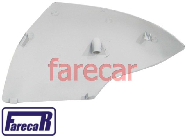 capa primer com furo para pisca do espelho retrovisor ford ka 2008 a 2014 08 09 10 11 12 13 14 2009 2010 2011 2012 2013  - Farecar Comercio