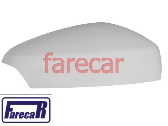 capa primer com furo para pisca do espelho retrovisor Renault Logan 2014 2015 Sandero 2015 - 14 15  - Farecar Comercio